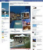 Aegean Melathron Facebook Profile