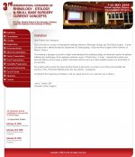 3rd international congress of  Rhinology-Otology and Skull Base Surgery - Current  Concepts - Website