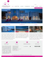 villafullmoon website & logo